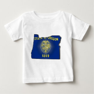 Oregon State Flag Baby T-Shirt