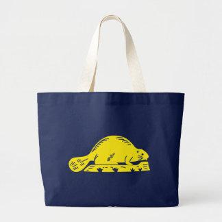 Oregon State Flag blue bag