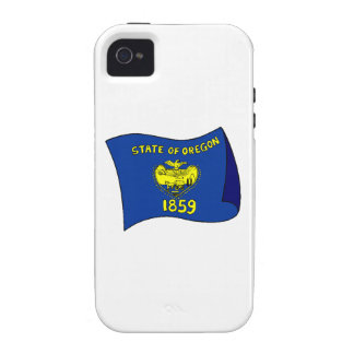 Oregon State Flag Case-Mate iPhone 4 Cover