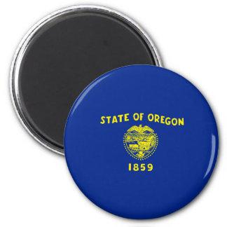 Oregon State Flag Design 2 Inch Round Magnet