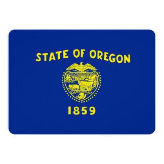 Oregon State Flag Design Card