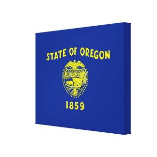 Oregon State Flag Design Decor Canvas Print