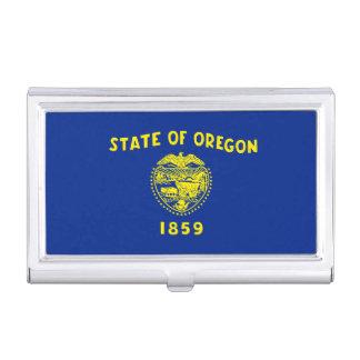 Oregon State Flag Design Decor Case For Business Cards