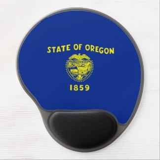 Oregon State Flag Design Gel Mouse Pad