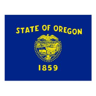 Oregon State Flag Design Postcard