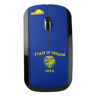 Oregon State Flag Design to go Wireless Mouse