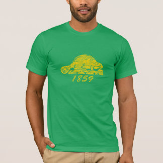 Oregon State Flag Grunge Beaver Eugene Love T-Shirt