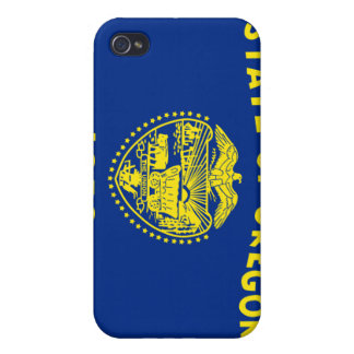 Oregon State Flag  Case For iPhone 4