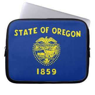 Oregon State Flag Laptop Sleeve