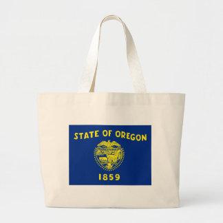 Oregon State Flag Large Tote Bag