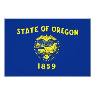 Oregon State Flag Photograph