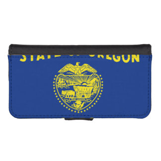 Oregon State Flag Phone Wallet Case