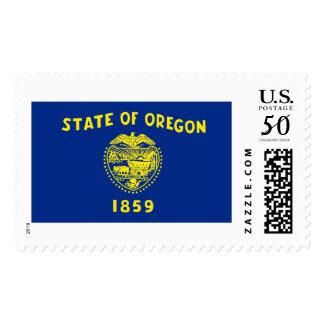 Oregon state flag postage