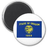 Oregon State Flag Refrigerator Magnet