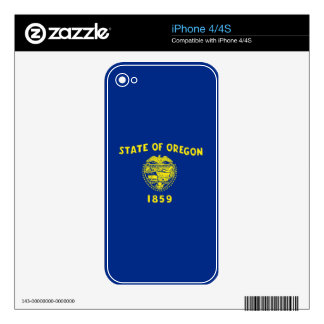 Oregon State Flag iPhone 4S Decals