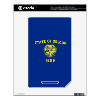 Oregon State Flag NOOK Color Skins