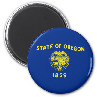 oregon state flag united america republic symbol 2 inch round magnet