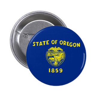 oregon state flag united america republic symbol pinback button