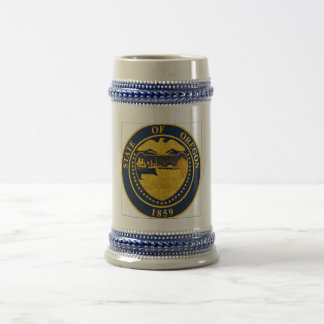 Oregon State Seal Beer Stein