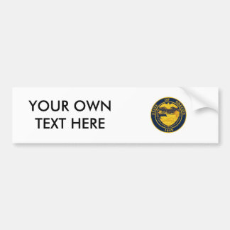 Oregon State Seal Bumper Sticker
