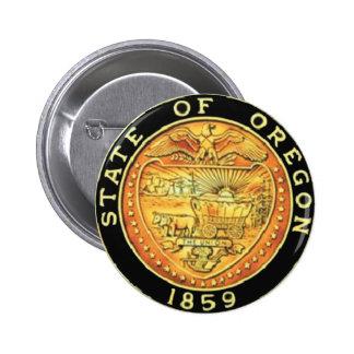 Oregon State Seal Button