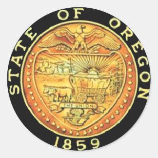 Oregon State Seal Classic Round Sticker