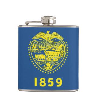 Oregon State Seal Flask