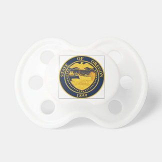 Oregon State Seal Baby Pacifiers