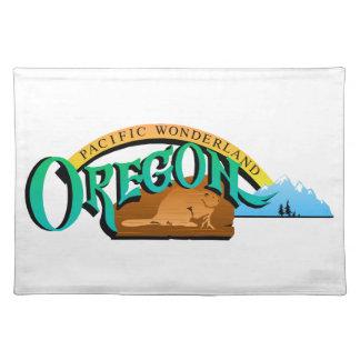 Oregon State, USA (United States of America) Salem Placemat