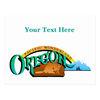 Oregon State, USA (United States of America) Salem Postcard