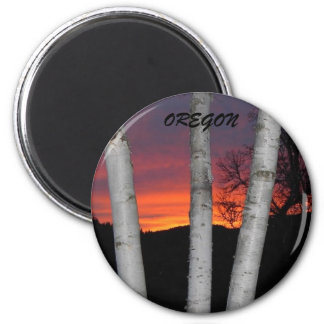 Oregon Sunset Magnet