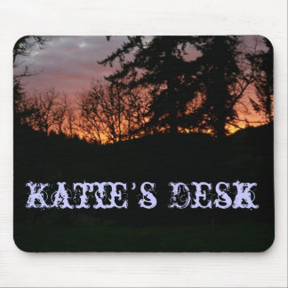 Oregon Sunset Name's Desk Mouse Pad