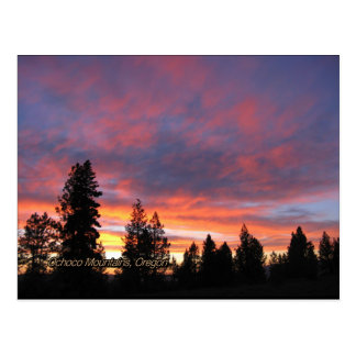 Oregon Sunset Postcards