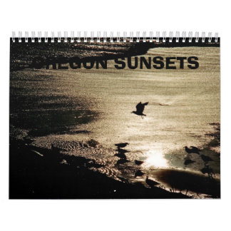 Oregon  Sunsets Calendar