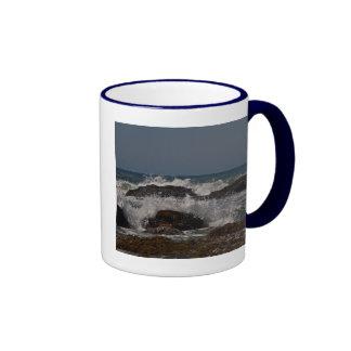 Oregon Surf & Sun Ringer Coffee Mug