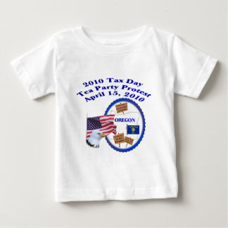 Oregon Tax Day Tea Party Protest Infant T-shirt