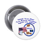 Oregon Tax Day Tea Party Protest Pins