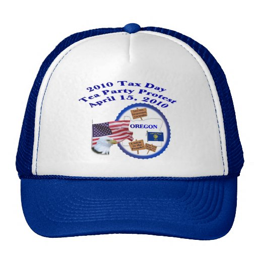 Oregon Tax Day Tea Party Protest Trucker Hat