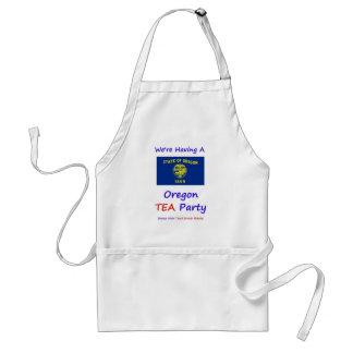 Oregon TEA Party - We re Taxed Enough Already Apron