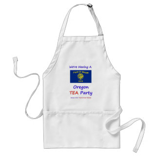 Oregon TEA Party - We're Taxed Enough Already! Adult Apron