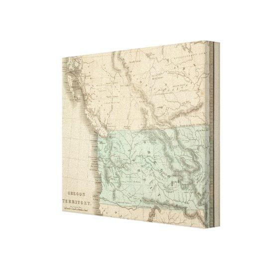 Oregon Territory 2 Canvas Print