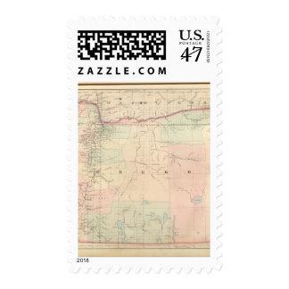 Oregon Timbre Postal