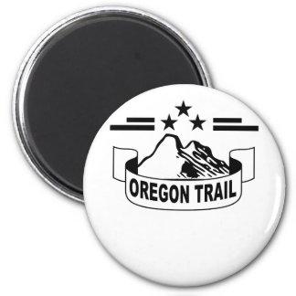 Oregon Trail ;' 2 Inch Round Magnet