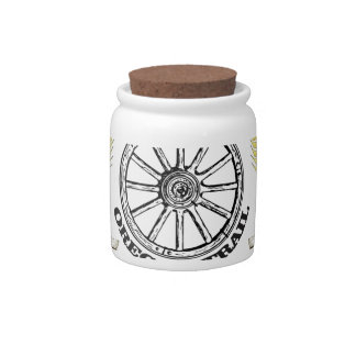 oregon trail adventure candy jars