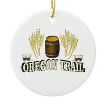 oregon trail blessing ceramic ornament