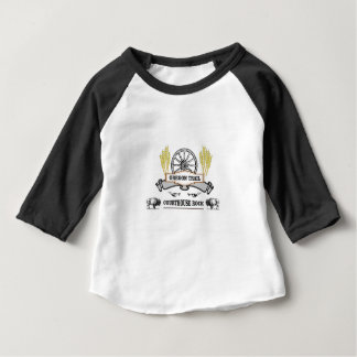 oregon trail courthouse rock baby T-Shirt