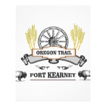 oregon trail fort kearney yeah! letterhead