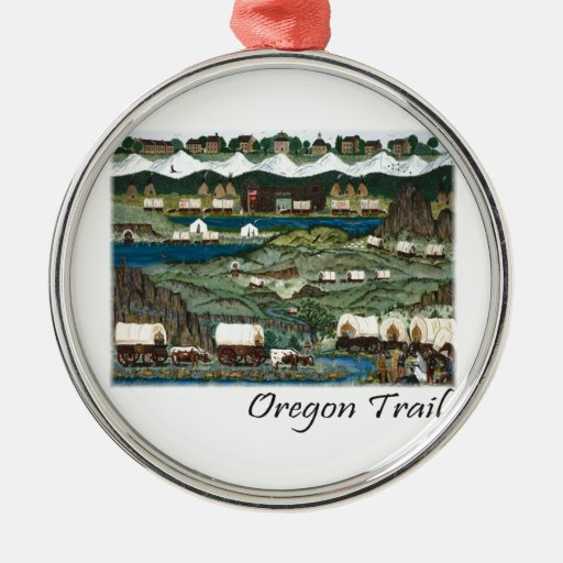 Oregon Trail Christmas Ornaments