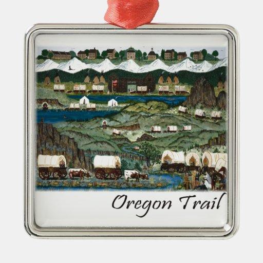 Oregon Trail Christmas Tree Ornaments