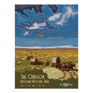 Oregon Trail Poster
